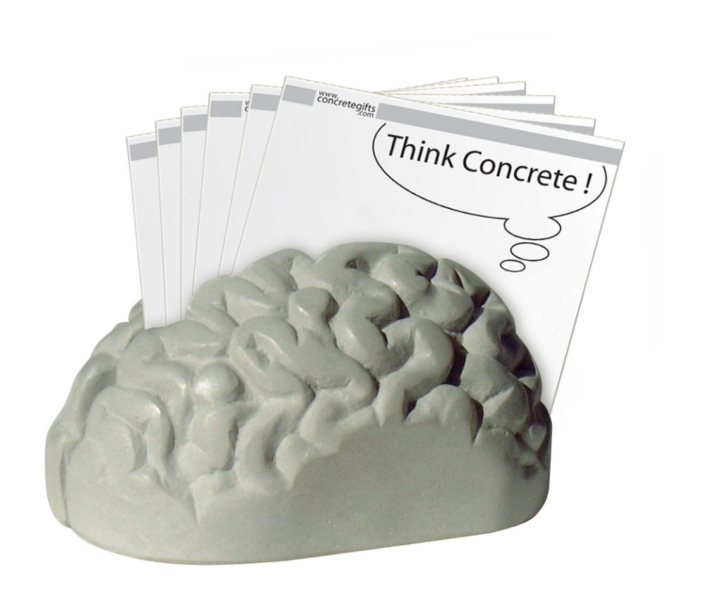 concrete brain 3d