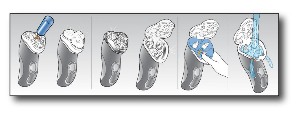 illustration shaver concepts