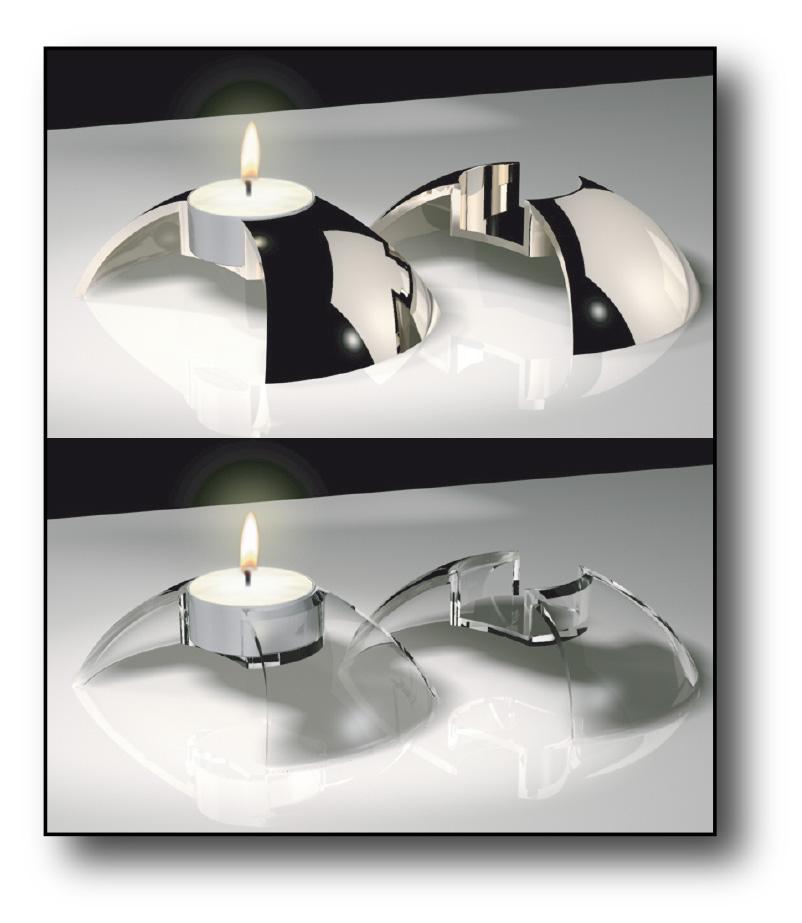 illustration candleholder concepts