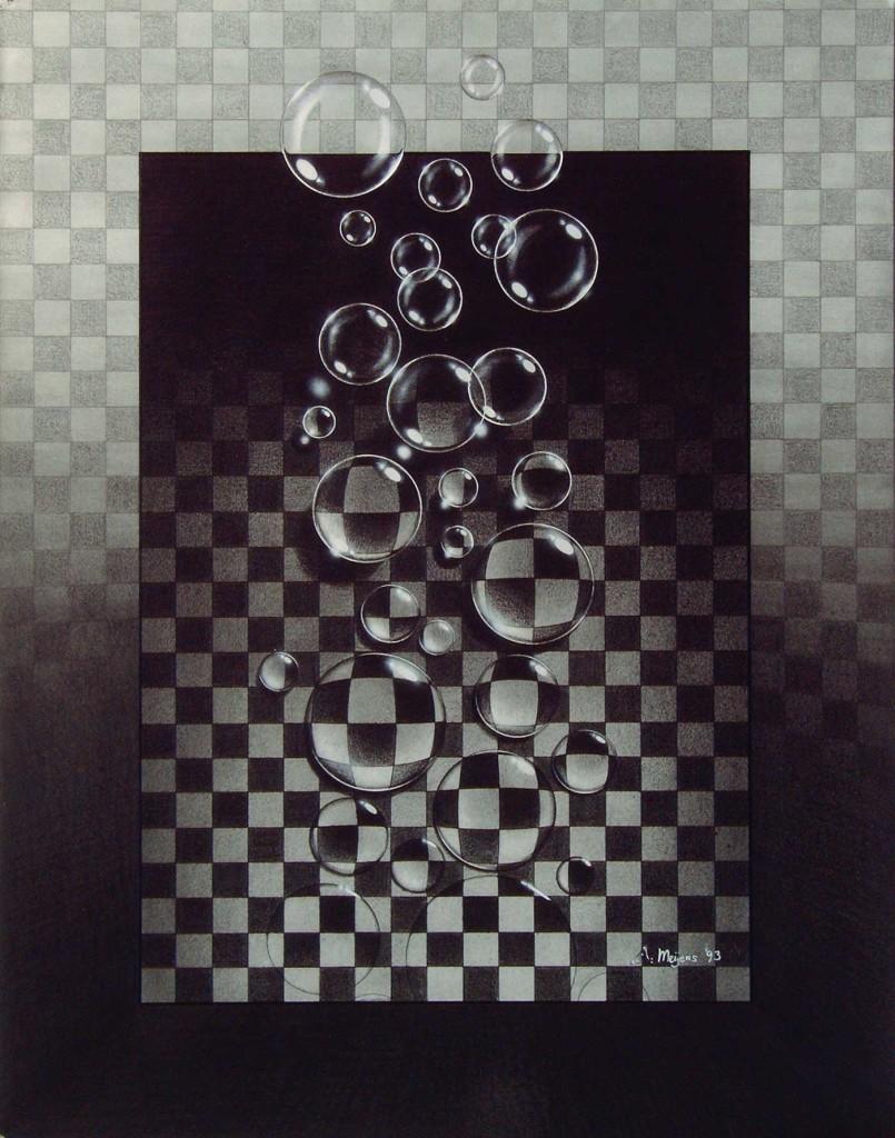 pencildrawing bubbles metamophosis freedom