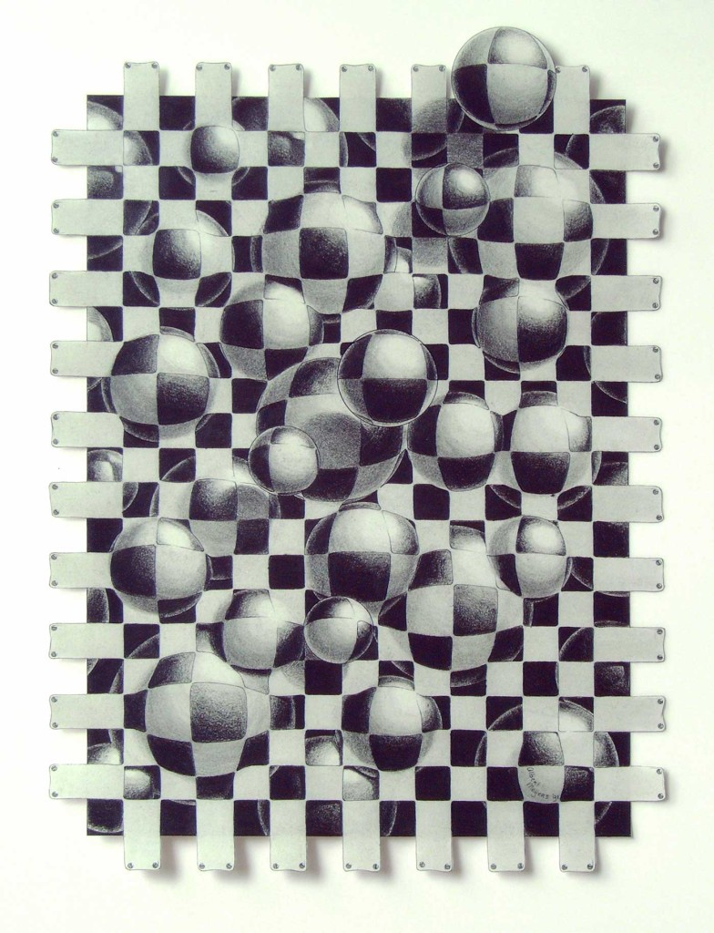 pencildrawing balls net transformation freedom