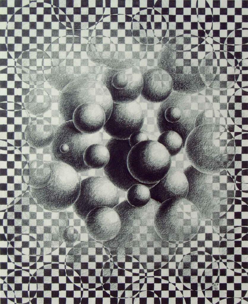 pencildrawing balls metamophosis freedom